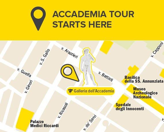 Meeting Point Accademia Tour Florence