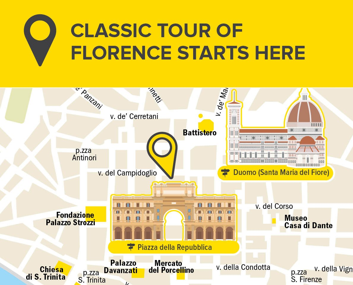 meeting point classic tour florence